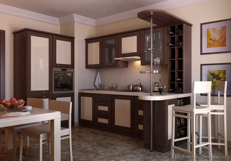 Pictures of kitchens modern two tone kitchen cabinets for 2 tone kitchen cabinet ideas
