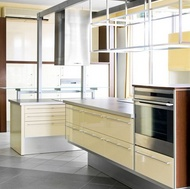 Modern Yellow Kitchen