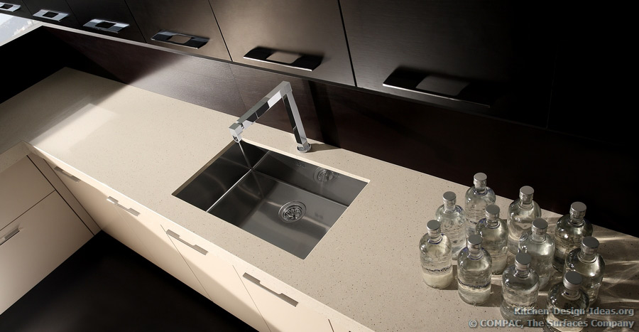 Compac Quartz - Pictures of Kitchen Countertops & Surfaces