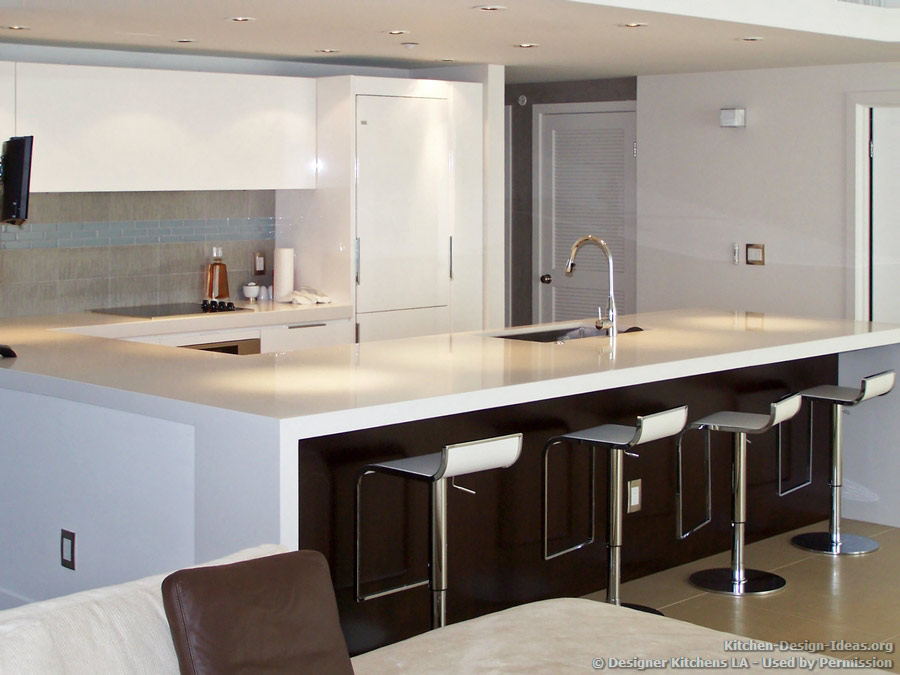 contemporary white kitchen modern bar stools designer kitchens la