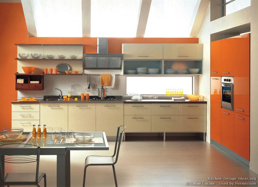 Orange Kitchen Walls Ideas: Par Visu Pārējo