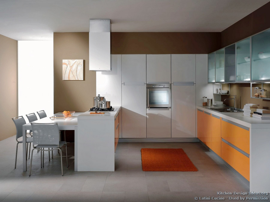 Awesome modern italian kitchen pictures tierra este 83700 for Italian kitchen cabinets