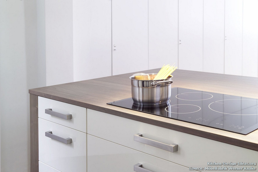 Kitchen Island With Cooktop Electric ~ Minimalist kitchen makes history modern style in a