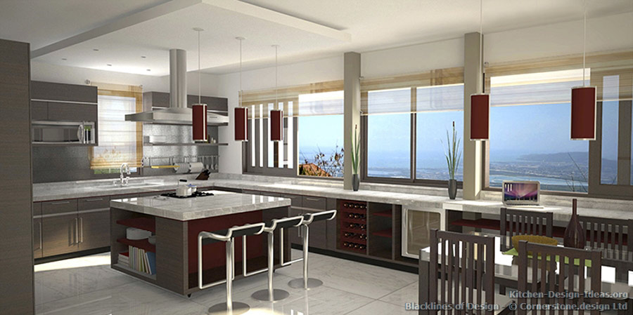 Blacklines of design architecture magazine kitchen photos for View kitchens ideas