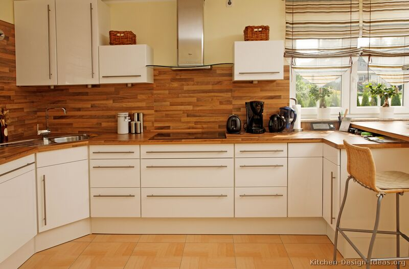 Pictures of kitchens modern white kitchen cabinets for Corner sink kitchen design ideas