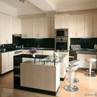 Modern Whitewash Kitchen