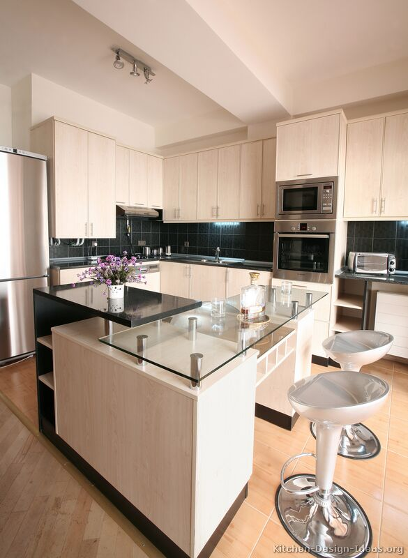 kitchens featuring whitewashed cabinets in modern styles Take a look