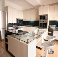 Modern Whitewashed Wood Kitchens