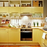 Modern Yellow Kitchens