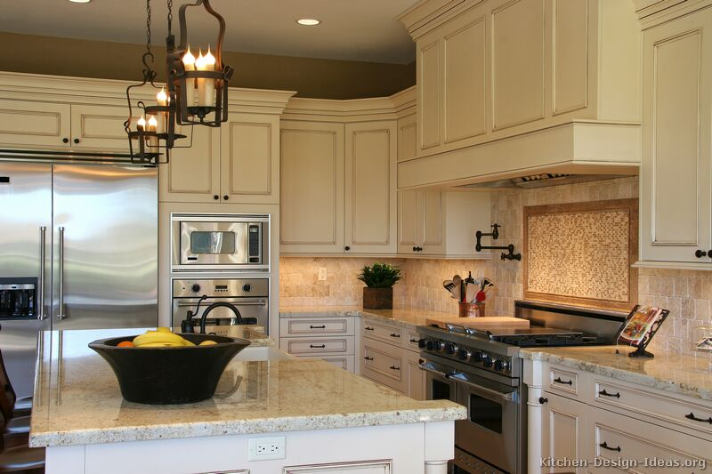 Off White Cabinets Kitchen pictures of kitchens - traditional - off-white antique kitchens