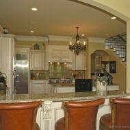Traditional Antique White Kitchen