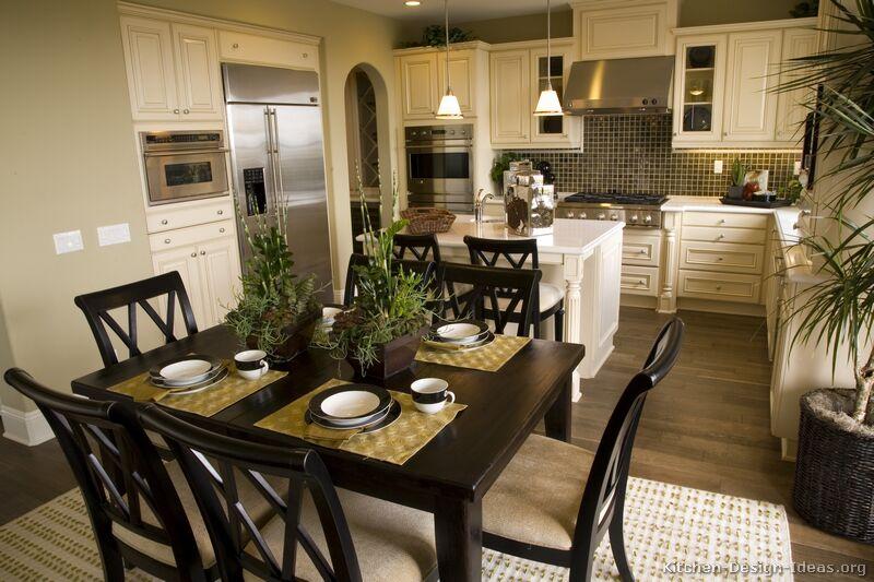 Of Kitchens Traditional Off White Antique Kitchens Kitchen 7