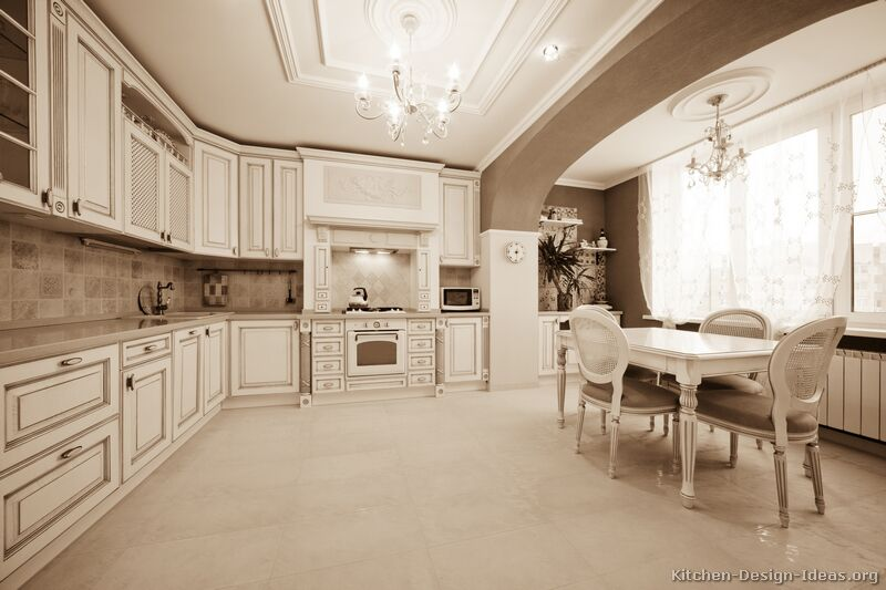Pictures Of Kitchens Traditional Off White Antique Kitchens Kitchen 11