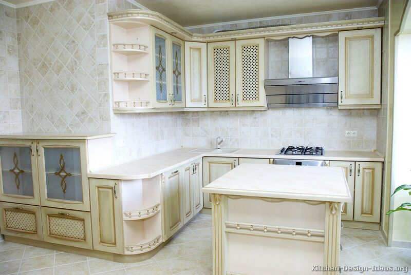 19 [+] More Pictures · Traditional Antique White Kitchen
