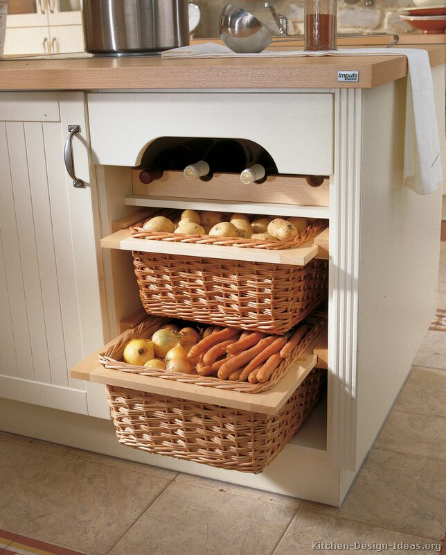 Buy Wicker Storage Basket Kitchen Drawer Style From The: Pictures Of Kitchens