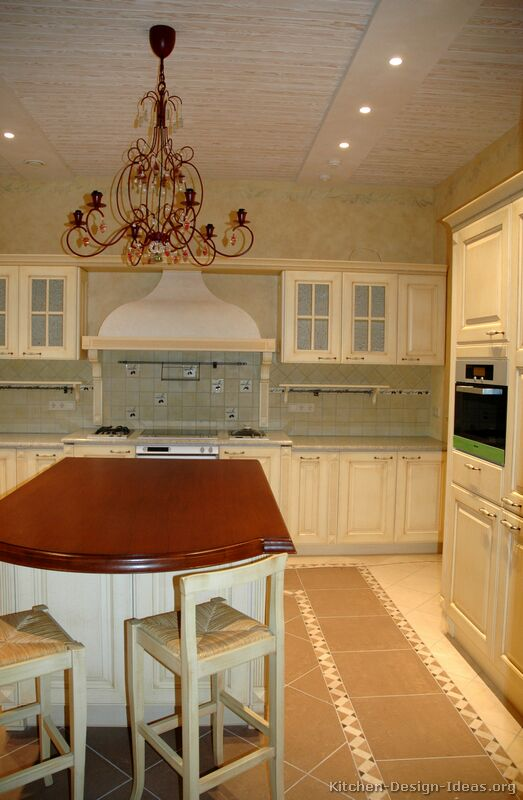 Kitchen Design Ideas Org Part - 31: 29, Traditional Antique White Kitchen