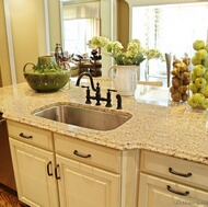 Traditional Antique White Kitchen