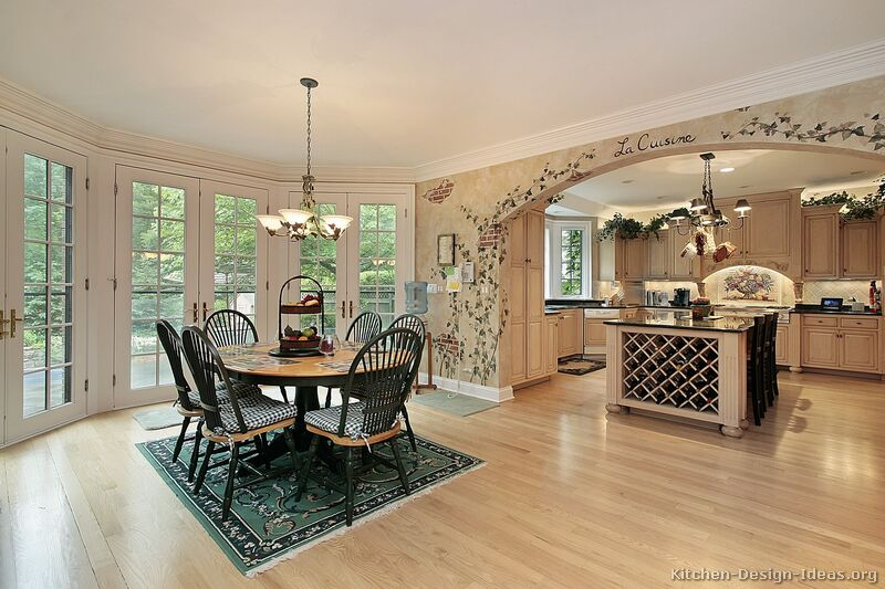Antique White Country Kitchen french country kitchens - photo gallery and design ideas