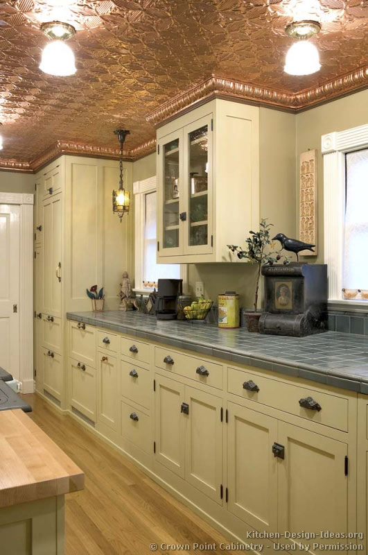 Victorian kitchens cabinets design ideas and pictures for Kitchen ideas victorian