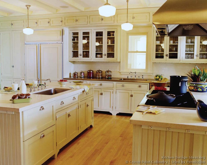 of Kitchens Traditional f White Antique Kitchen Cabinets Page 3