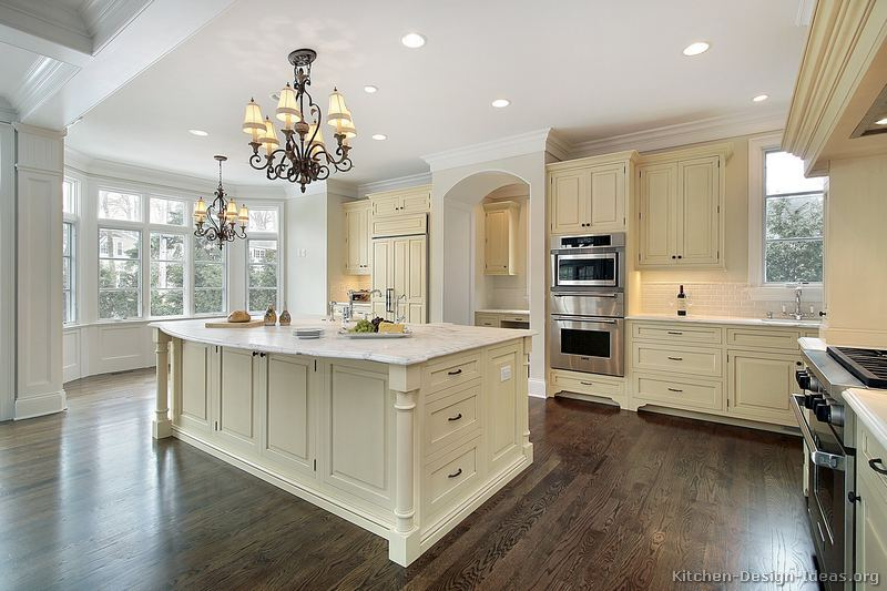 Good Pictures Of Kitchens Traditional Off White Antique Kitchens
