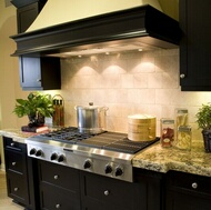 Traditional Black Kitchen