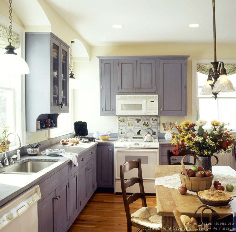 Pictures Of Kitchens Traditional Blue Kitchen Cabinets Kitchen 4