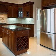Traditional Dark Wood (Cherry) Kitchen