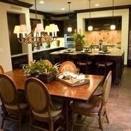 Traditional Dark Wood (Black) Kitchen