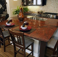 Red Granite Countertop