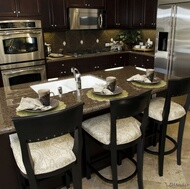 Traditional Dark Wood (Black) Kitchen
