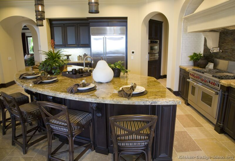 Pictures Of Kitchens Traditional Dark Espresso Kitchen