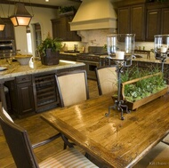 Traditional Dark Wood (Walnut) Kitchen