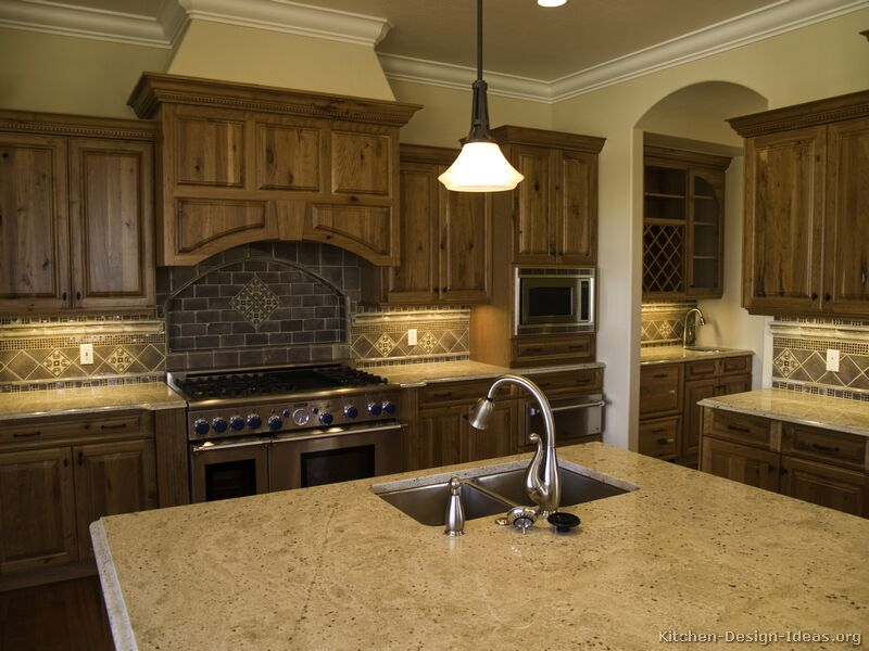 Pictures of Kitchens Traditional Dark Wood Kitchens Walnut Color – Black Walnut Kitchen Cabinets