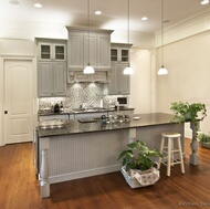 Traditional Gray Kitchens