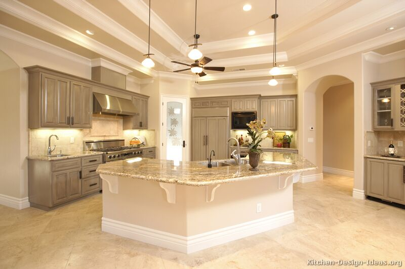 of Kitchens  Traditional  Gray Kitchen Cabinets (Kitchen #3