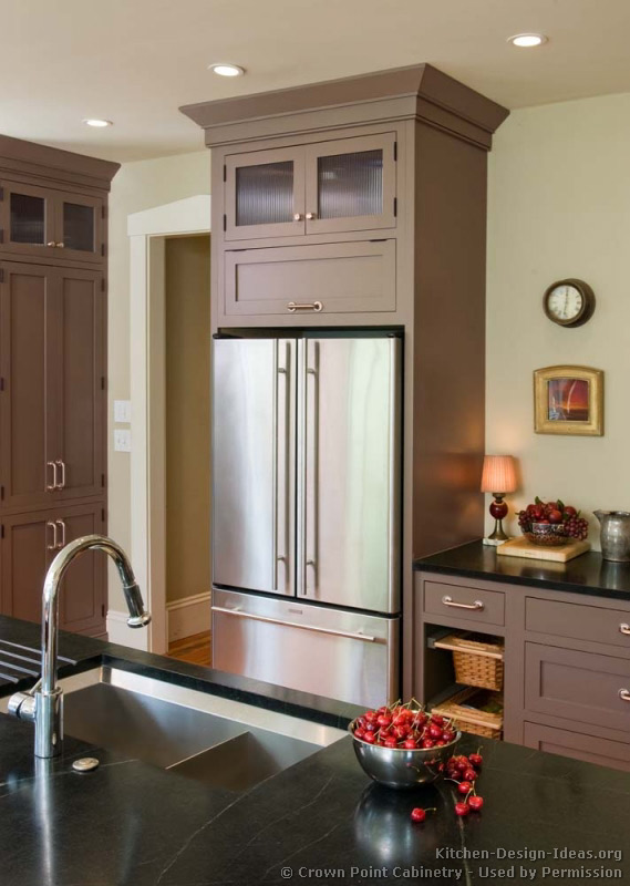 of Kitchens  Traditional  Gray Kitchen Cabinets (Kitchen #6
