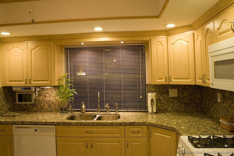 of kitchens traditional light wood kitchen cabinets kitchen 20