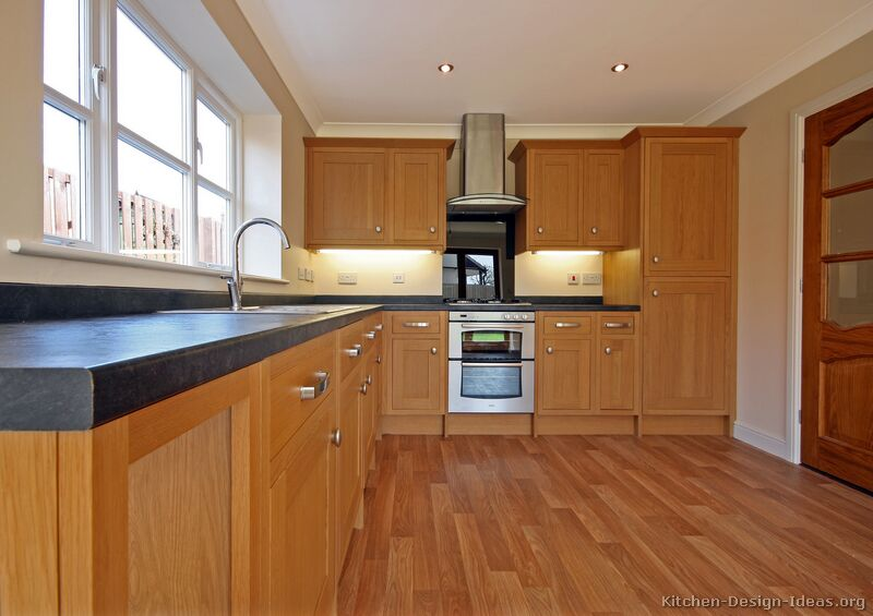 Of Kitchens Traditional Light Wood Kitchen Cabinets Kitchen 23