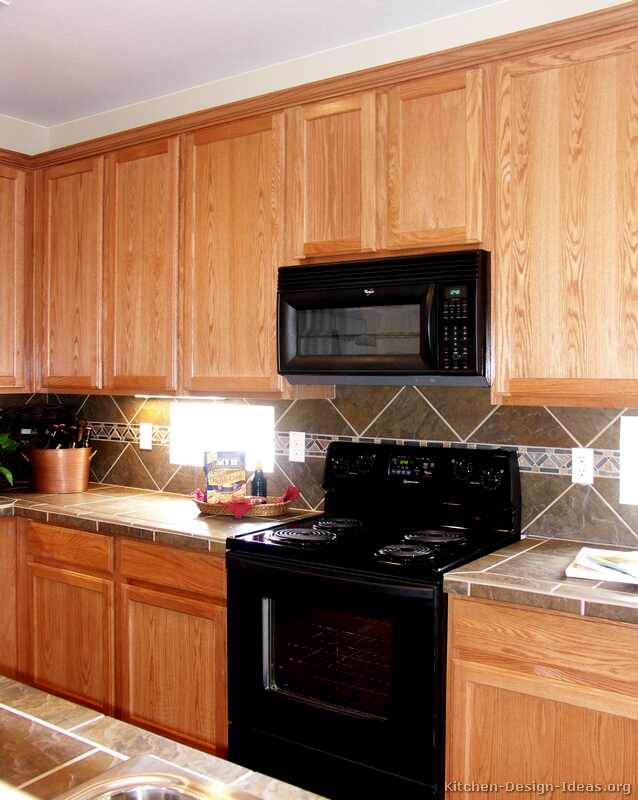 Refrigerators parts kitchen appliances Kitchen design with light oak cabinets