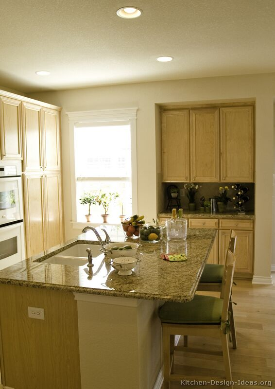 Pictures Kitchens Traditional Light Wood Kitchen Cabinets Page