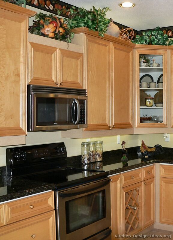 What Color Kitchen Cabinets Go Well With Black Appliances - Sarkem.net