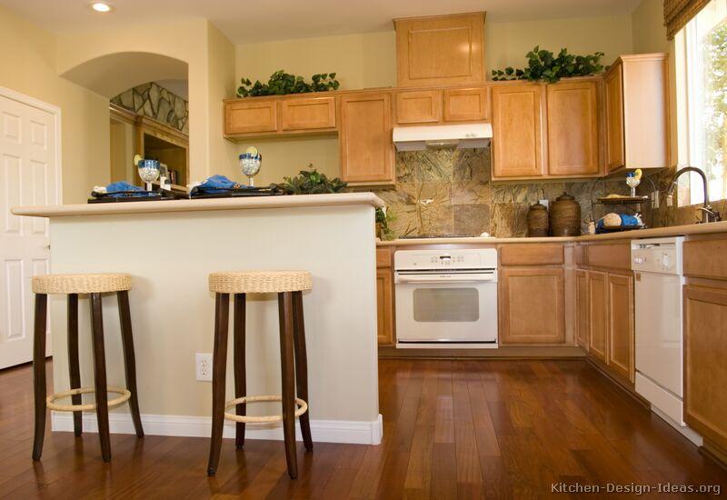White Kitchen Cabinets Cherry Floors. Good Kitchen Ideas Victorian ...