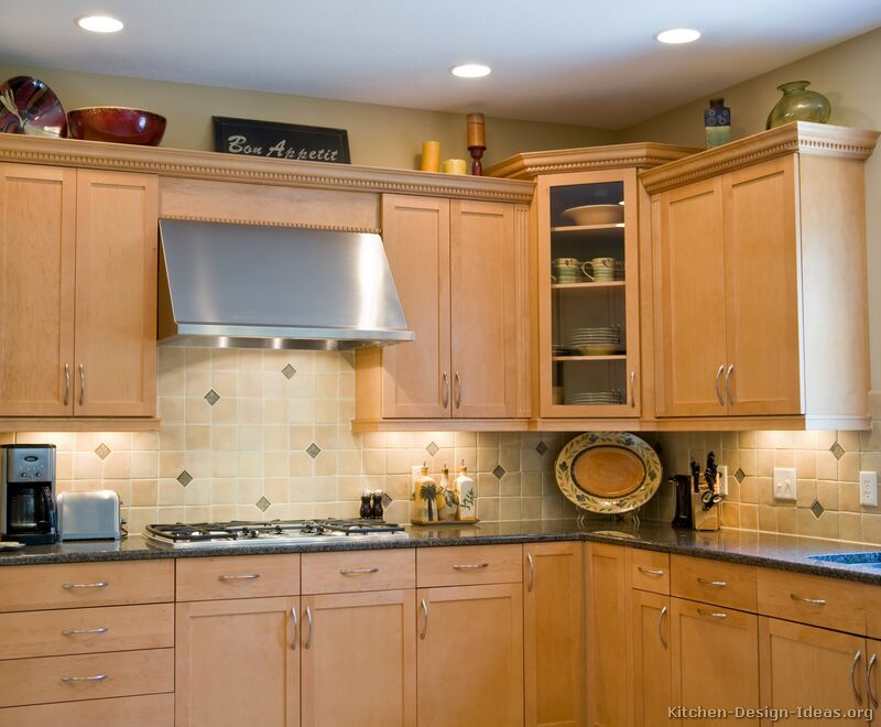 Of Kitchens Traditional Light Wood Kitchen Cabinets Page 3