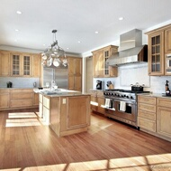 Traditional Light Wood Kitchen