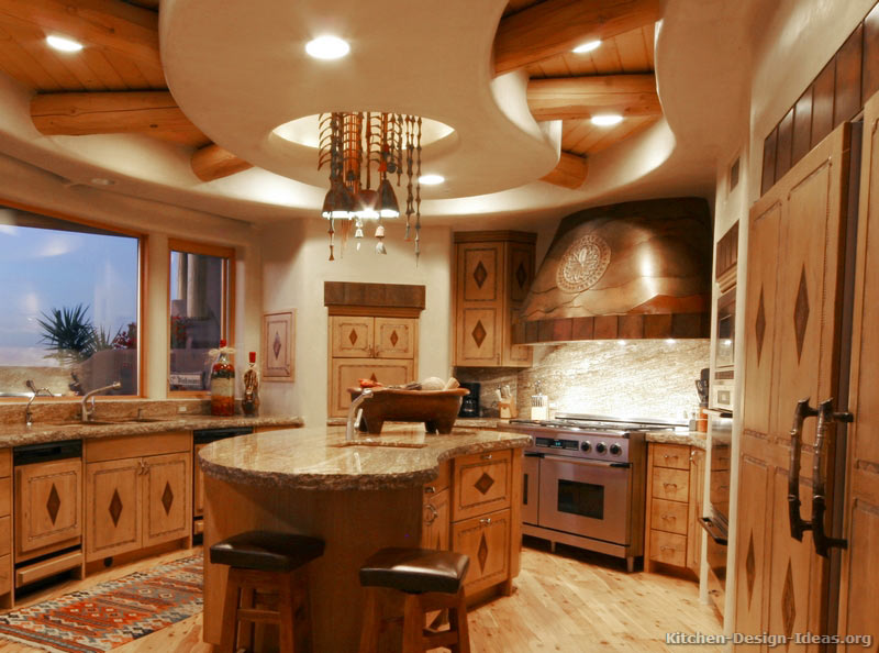 Rustic kitchen designs pictures and inspiration for Kitchen gallery ideas