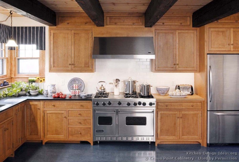 Pictures Of Kitchens Traditional Light Wood Kitchen Cabinets Kitchen 122