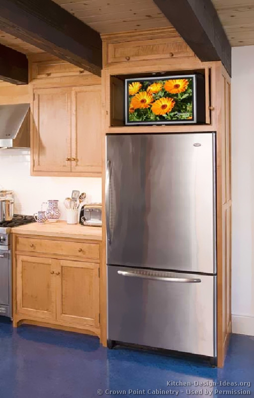 Pictures Of Refrigerators In Kitchens