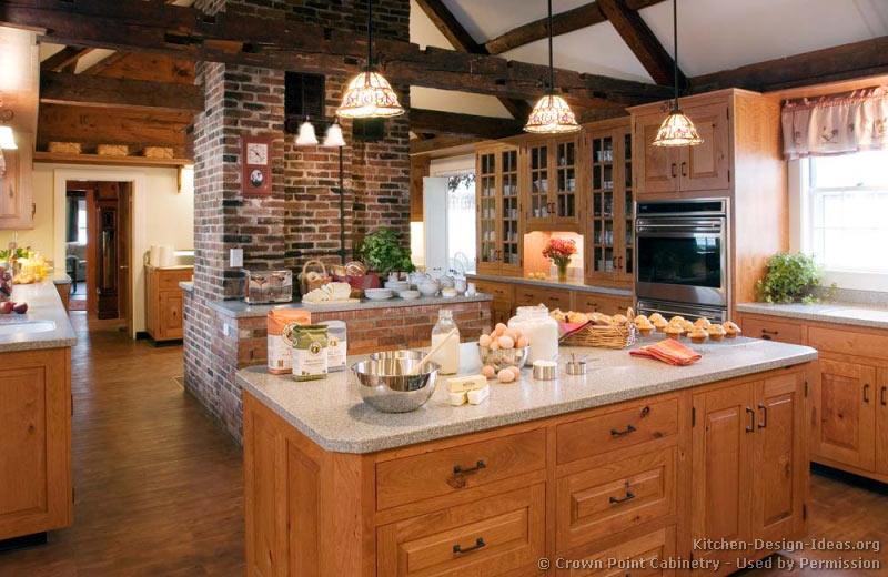 rustic kitchen designs pictures and inspiration. Black Bedroom Furniture Sets. Home Design Ideas