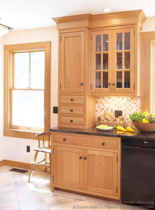 Kitchen-design-ideas.org Part - 17: Traditional Light Wood Kitchen